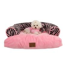 Safari Dog Bed by Puppia - Pink