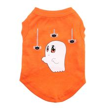 Sammy the Ghost Dog Shirt - Orange