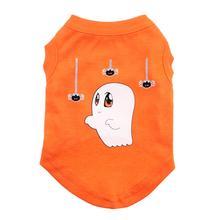 Sammy the Ghost Dog Shirt - Orange