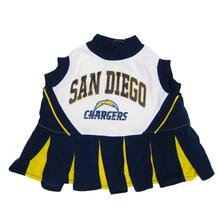San Diego Chargers Cheerleader Dog Dress