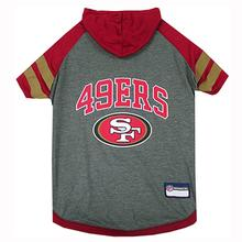 San Francisco 49ers Hooded Dog T-Shirt