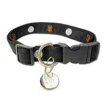 San Francisco Giants Woven Ribbon Dog Collar - Premium