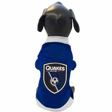 San Jose Earthquakes Athletic Mesh Dog Jersey