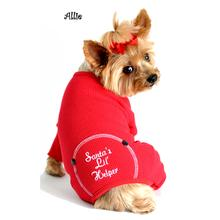 Santa's Lil Helper Dog Pajamas