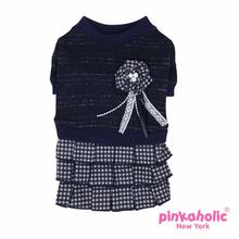 Sassy Dog Dress by Pinkaholic - Navy