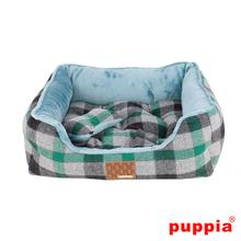 Sawyer House Dog Bed by Puppia - Green