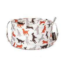 Scout and About Travel Dog Bowl - Vanilla