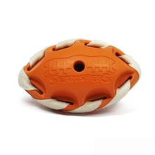 Seamsters Rubber/Rawhide Football Toys