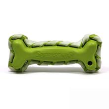 Seamsters Rubber/Rawhide Green Bone
