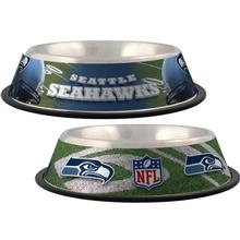 Seattle Seahawks Dog Bowl