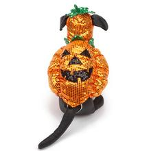Sequin Pumpkin Pooch Dog Costumes