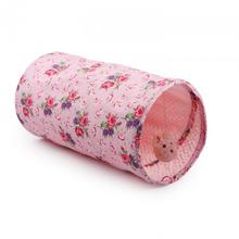 Shabby Chic Summer Time Cat Tunnel - Pink