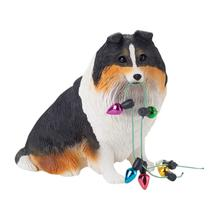 Shetland Sheepdog Christmas Ornament - Tri