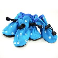 Slip-On Paws Dog Booties by Dogo - Blue Paws