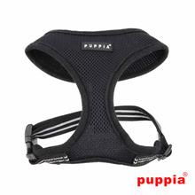 Smart Soft Adjustable Dog Harness by Puppia - Black