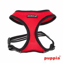 Smart Soft Adjustable Dog Harness by Puppia - Red