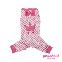 Smirky Dog Jammies by Pinkaholic - Pink