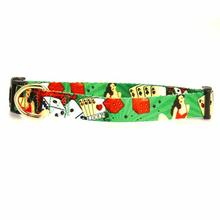 Smokin Aces Dog Collar - Poker