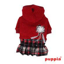 Smurf Dog Dress bu Puppia - Red