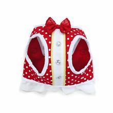 SnapGo Mini Dots Dog Harness by Dogo - Red