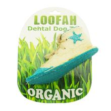 Sneaker Loofah Dental Dog Toy