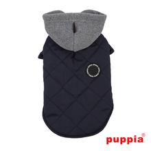 Snowcap Dog Coat by Puppia - Navy