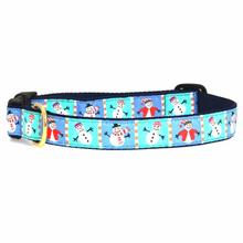 Snowman Dog Collar by Up Country
