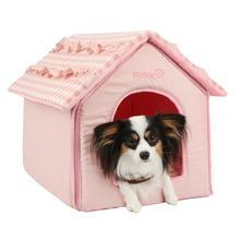 Snug House Dog Bed by Pinkaholic - Pink