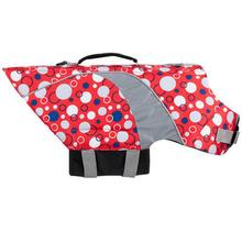 Soda Pop Canine Dog Lifejacket - Red