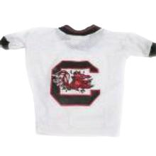 South Carolina Gamecocks Dog Jersey - White