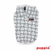 Sparrow Sleeveless Dog Hoodie by Puppia - Khaki