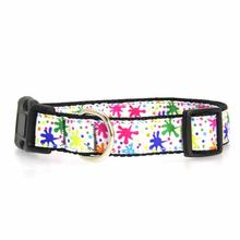 Splatter Paint Dog Collar