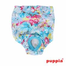 Spring Garden Dog Sanitary Pants by Puppia - Sky Blue