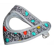 Squiggle Dot Print Step-In Dog Harness