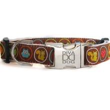 Squirrel Patrol Dog Collar by Diva Dog