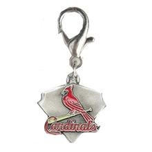 St. Louis Cardinals Pennant Dog Collar Charm