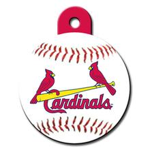 St. Louis Cardinals Engravable Pet I.D. Tag