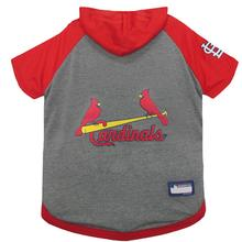 St. Louis Cardinals Hooded Dog T-Shirt