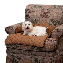 Sta-Put Pet Bolstered Furniture Protector by Solvit - Cocoa