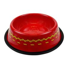 Star Trek Uniform Dog Bowl - Red