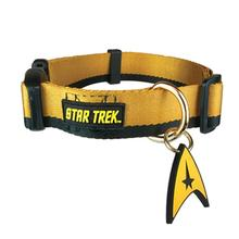 Star Trek Uniform Dog Collar - Gold