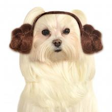 Star Wars Princess Leia Headband Dog Costume