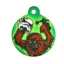 Star Wars QR Code Pet ID Tag - Chewbacca