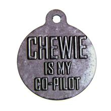 Star Wars QR Code Pet ID Tag - Chewbacca Co-pilot