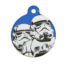 Star Wars QR Code Pet ID Tag - Stormtrooper