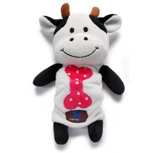 Sugar Bunch Dog Toy - Cow