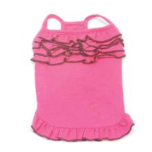 Summer in Rio Dog Tank by Oscar Newman - Hot Pink