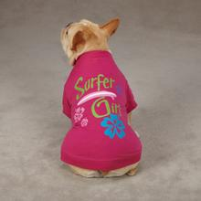 Surf's Up Dog T-Shirt - Surfer Girl