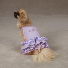Sweetheart Dog Dress - Lavender