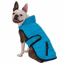 Tahoe Puffer Dog Coat - Aqua